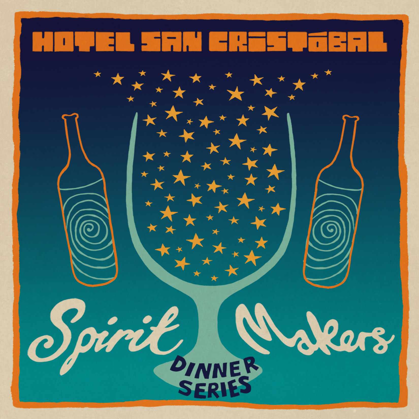 Click to read the full Spirit Makers Dinner Series with Vena Cava post